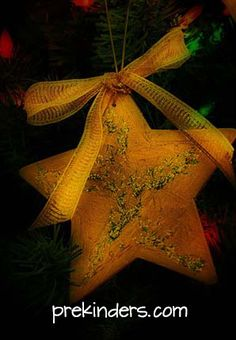 Star Christmas Ornament for Kids to Make