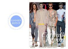 Fashion Men Summer 2015 #summer #2015 #men #fashion #dmafashion #Missoni #CalvinKlein #RobertoCavalli #Dior