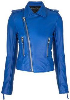Balenciaga Biker jacket on shopstyle.com