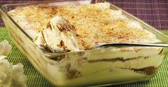 Receitas práticas de culinária: Delicia de iogurte e bolacha . uma verdadeira delicia!
