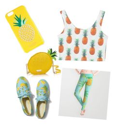 """Pineapple Perfect"" by hellokittyrox20 ❤ liked on Polyvore"