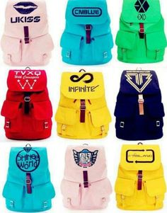 I have the SHINee World one! Link for purchase below:  http://www.amazon.com/KPOP-accessories-B-A-P-backpack-schoolbag/dp/B00E556I9I/ref=sr_1_3?ie=UTF8&qid=1391215370&sr=8-3&keywords=kpop+backpacks