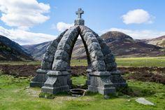 The Queen's Well, Mount Keen, Cairngorms, Scotland