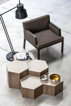 Geometrical-furniture-chair-hexagonal-sidetable Geometrical-furniture-chair-hexagonal-sidetable