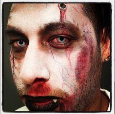 Zombie bullet dude