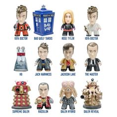 Doctor Who Titans 10th Doctor Gallifrey Figure Display Box - Titan Merchandise - Doctor Who - Vinyl Figures at Entertainment Earth