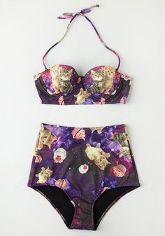 Know an Eccentric or Two Swimsuit Bottom   Mod Retro Vintage Bathing Suits   ModCloth.com