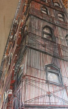 """""""485 Flinders Lane""""  From the Vacancy exhibition  @ 45 Downstairs, Melb, Vic, Australia.  Opens 23/10/12 to 03/11/12"""