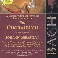 Precision Series G Gnann/H Rilling - Bach: Choral Book for Easter Vol. 80