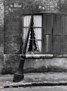 André Kertész Le Havre, France, September 1948 From On Reading, Thanks to liquidnight