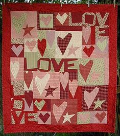 Great quilt for your sweetheart from The Buggy Barn