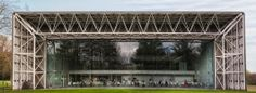 Sainsbury Centre for Visual Arts, Norwich Tectonic Architecture, Art And Architecture, Space Frame, Norman Foster, Steel Structure, Art Google, The Fosters, Britain, Museum