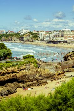 Biarritz, #France is the classic European beach vacation, newly reinvented as a laid-back, surfer-bohemian hot spot.