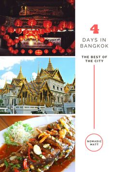 How to Spend 4 Days in Bangkok | How to spend your time in Bangkok, Thailand and see more than just temples, malls and traffic! Use this 4-day guide to see the best of Thailand's capital.