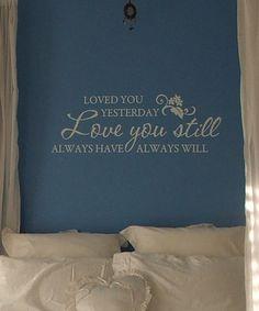 wall sayings :)