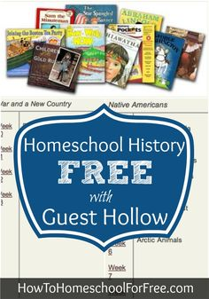 FREE full American and Ancient History Curriculums and Printables by Guest Hollow!