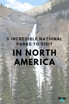 National Parks are always a great itinerary addition when planning a group vacation, these free natural sites full of stunning scenery, educational opportunities, and fun outdoor recreation. You can please every member of your group with a national park trip, you just have to decide which national park out of North America's 419 you want to visit! Here's a little help... Outdoor Recreation, Outdoor Fun, North America, Travel Tips, National Parks, Scenery, The Incredibles, Tours, Vacation