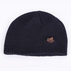 663cad712a1 Fashion Maple Leaf Set Knit Hat Scarf Unisex Velvet Thick Winter Beanie 2  Pieces  mensfashion  menswear  winterfashion