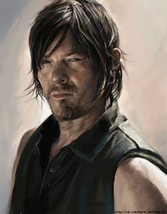 The Walking Daryl.... I mean the Walking Dead fanart! XD I ship Caryl all the way! You can buy merch of this pic here: society6.com/Sempaiko/The-Walk…
