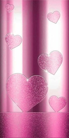 Heart Iphone Wallpaper, Pretty Phone Wallpaper, Glitter Wallpaper, Cellphone Wallpaper, Pink Wallpaper, Phone Backgrounds, Phone Wallpapers, Pink Love, Valentines