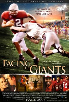 A movie about a Christian high school football coach who uses his undying faith to battle the giants of fear and failure.