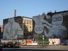Street art Berlin.