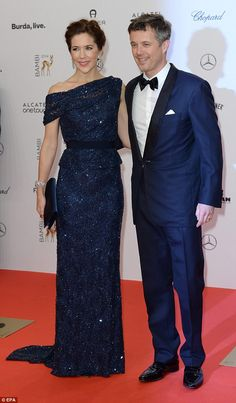 Regal affair:A testament to the prestige of the awards ceremony, the Prince and Princess of Denmark were in attendance