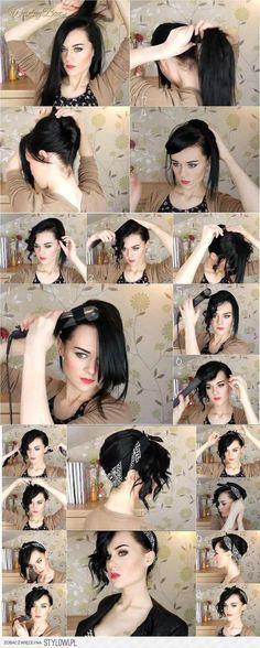 Astuce cheveux  2