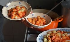 Kitchen sink tales: Gnocchi – or potato dumplings – are tender morsels of delight and the ideal vessel for tomato sauce, pork ragu, clams, sage butter, and a generous snow of pecorino