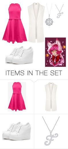 """Funtime Foxy #4"" by remus-paris-black on Polyvore featuring art"