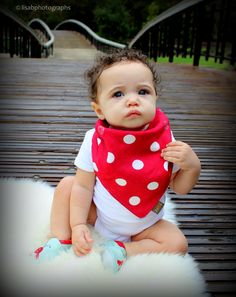 Love this bib - and it looks so cute on Audriana!     $13 from www.mybabypeanut.com