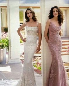 Pronovias. Oh the rose one would be perfect for my bridesmaids TEXAS BRIDE