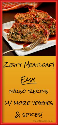 Not your grandma's meatloaf...this one kicks it up a notch or two!