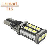 2016 bombilla led T15 w16w 921 del revés del coche de reserva del estacionamiento de luz automático de la lámpara sin error de canbus 15 SMD 2835 12 V 330lm de xenón blanco