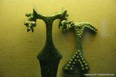 Koban culture. North Caucasus I millennium BC. Historical Museum, Moscow