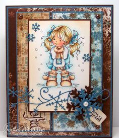 Wee Digi Stamps card