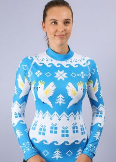 Awesome ugly Christmas rashie 594146bb3