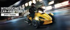 BRP Can-Am Spyder Roadster USA: 3 Wheel Motorcycles