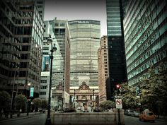Grand Central Station and Met Life building (Pan Am Building).  NYC, Sept 2012