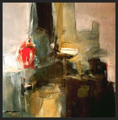 Temples by sterling edwards Acrylic ~ 36 x 36