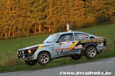 East Belgium Rally 2014 piloted by T.Vdberge & B.Maes in their Opel Kadett GTE.