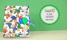 Porta-caderneta - Leila Corato