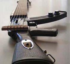 AK-47 Guitar. thisiswhyimbroke.com