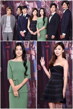 Presentación de los actores del nuevo drama The Night Watchman.