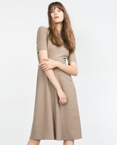 Image 2 of DRESS WITH FULL SKIRT from Zara