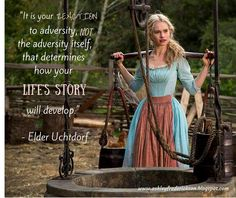 Lesson's on adversity from Cinderella