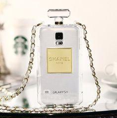 Perfume Bottles Samsung s5 phone case Cc No.5 Galaxy S5 i9600