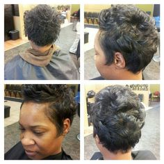 Short ALL NATURAL (no relaxer)