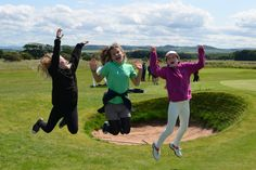 Scottish Golf's Summer of Fun for Young Players
