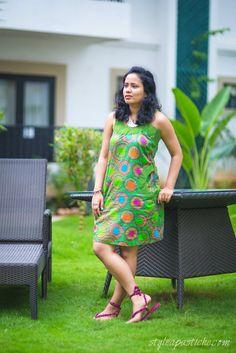 Resort Wear - Mint green Geometric Print Dress   http://www.styleapastiche.com/2014/08/how-to-wear-resort-wear-collection.html